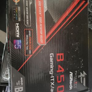 Asrock B450 I Fatility Amd Motherboard for Sale in Hillsboro, OR