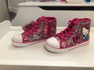 Brand New Hello Kitty Sneakers. Toddler Size 10 for Sale in Bethpage, NY