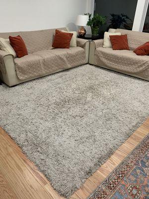 Shag rug (Grey) for Sale in Saratoga, CA