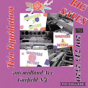 Washers & Dryers SALE !! for Sale in Garfield, NJ