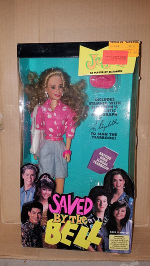 Jessie Jessica Spano Saved by the Bell tiger toys figure Bayside NIB for Sale in Moorpark, CA