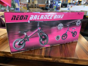 New Pink Neon Balance Bike for Sale in Norfolk, VA