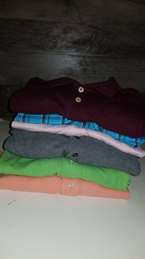 Lot of 9 mens XL shirts izod,tommy,structure,american rag,club room,oldnavy for Sale in Fort Lauderdale, FL