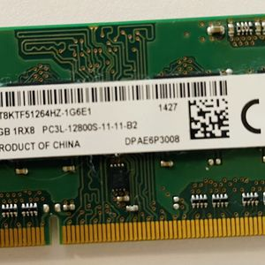 Dell original Memory SODIMM 1x4GByte DDR3L-12800-11-11 from Micron for Sale in Roseville, CA