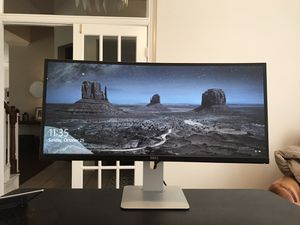 Dell UltraSharp U3415W 34-Inch Curved LED-Lit Monitor for Sale in Richardson, TX