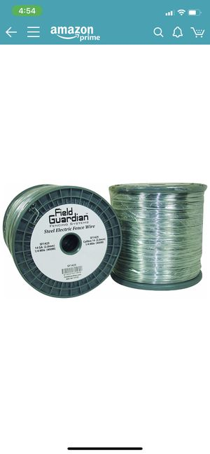 Galvanized steel electric fence wire spool for Sale in St. Louis, MO
