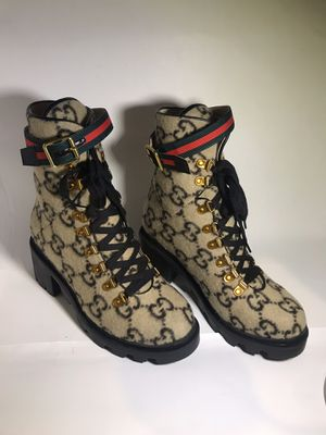 Gucci Brown GG Ankle Boots Size 40 for Sale in Queens, NY