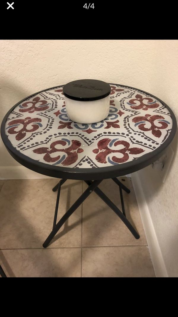 4 Piece Set of Tables and Chairs