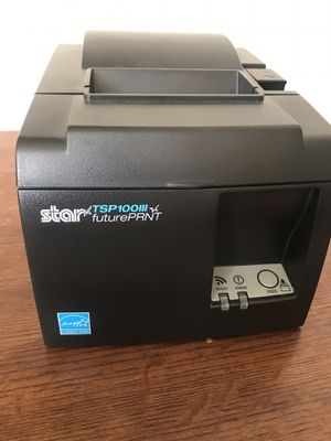 Star Micronics TSP143IIIW Wi-Fi (WLAN) Thermal Receipt Printer with Wireless Access Point, WPS, Cutter, and Internal Power Supply for Sale in Phoenix, AZ