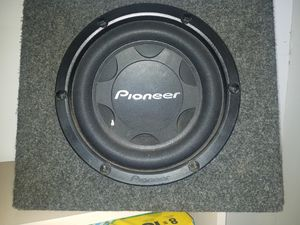 "10"" Pioneer sub for Sale in Hillsboro, OR"
