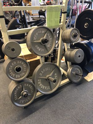 New Olympic weight plates $1.10 per lb for Sale in Renton, WA