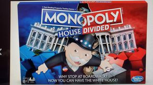 Monopoly House Divided Politcal Board Game for Sale in Eastpointe, MI