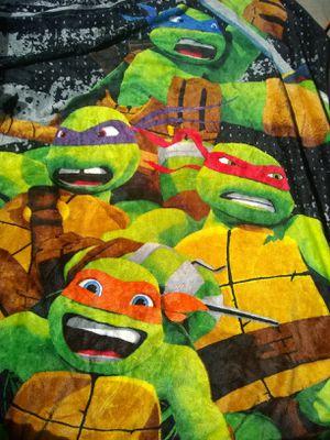 Teenage mutant Ninja turtles throw blanket for Sale in Hamlin, WV