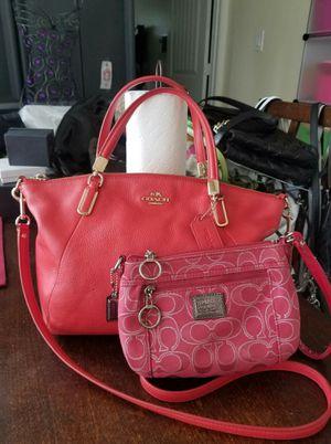 Authentic Coach purse wrislet bundle for Sale in Lincoln Acres, CA