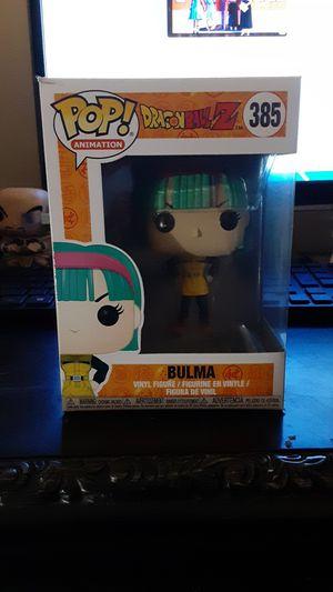 Dragonball Z Bulma Pop figure for Sale in Apopka, FL