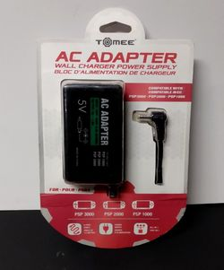 Tomee AC Adapter for PSP (3000, 2000, and 1000 Models) Original Version for Sale in Irwindale, CA
