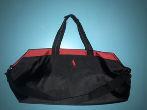Black and Red Polo duffle bag with shoulder strap for Sale in Avondale, AZ