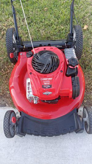 Troy-bilt tb110 550ex series 140cc push Lawn mower, no bag, for Sale in Bloomington, CA