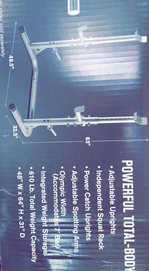 (600lb. Weight capacity) Squat Rack for Sale in Hayward, CA