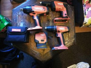 Hilti power tools for Sale in Providence, RI