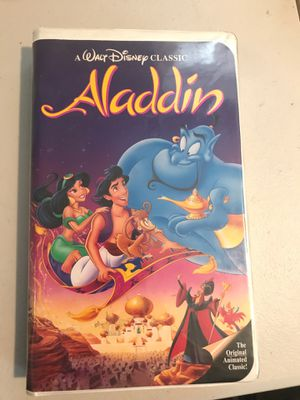 Disney VHS - Aladdin for Sale in Woodmere, NY