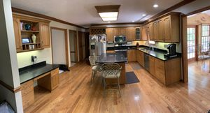 Used high quality kitchen cabinets w/ desk and island for Sale in Venetia, PA