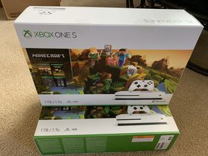 Brand new Xbox One S Minecraft edition for Sale in Houston, TX