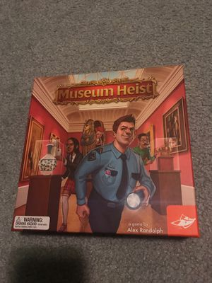Museum heist board game for Sale in Graham, WA