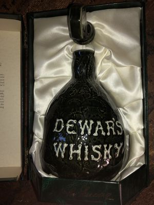 Dewar's White Label Scotch Whiskey Centennial Decanter/bottle for Sale in Glastonbury, CT