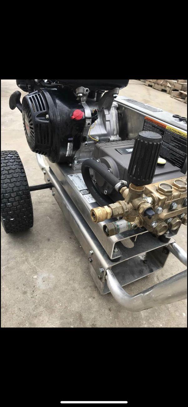 MI-T-M CBA-4004-1MGH aluminum Gas Pressure Washer 389cc 4000 psi