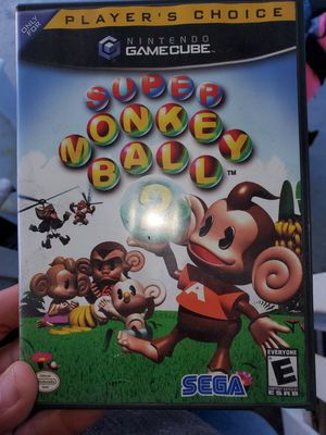 Gamecube monkey ball 2 for Sale in San Jose, CA