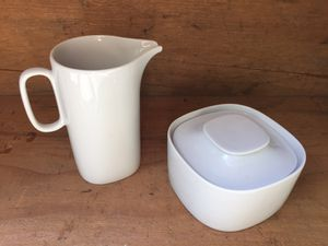 MCM Block Langenthal Switzerland Cream and Sugar for Sale in Snoqualmie, WA