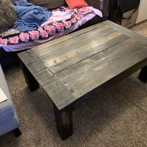 Rustic Handmade Coffee and End table set for Sale in Milwaukie, OR