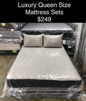 Luxury Queen Size Mattress Sets (New) Same Day Delivery & Financing Available for Sale in Atlanta, GA