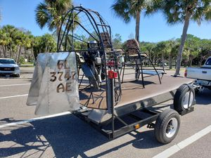 Airboat with trailer for Sale in St. Petersburg, FL