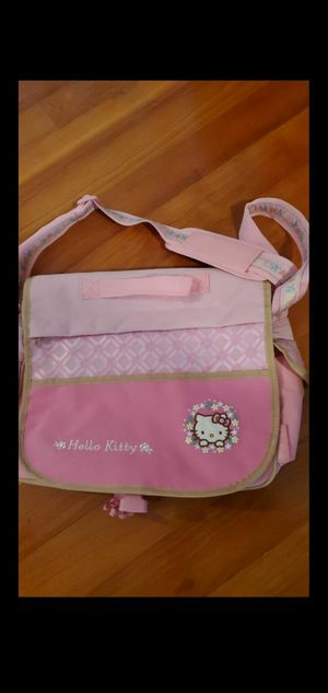 Hello Kitty messenger book bag carrying case for Sale in Miami, FL