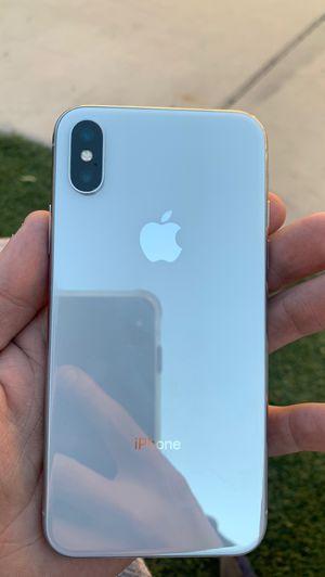 Unlocked iPhone 10 iPhone X 64 gb like new for Sale in Buckeye, AZ