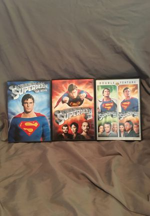 Superman(Christopher Reeves) Complete DVD Series for Sale in Stanwood, WA