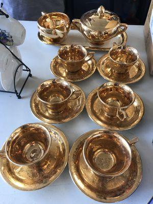 22 karat gold antique tea set for Sale in Saint Clair Shores, MI