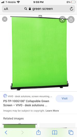 $200 GREEN SCREEN for Sale in Sylmar, CA