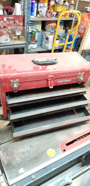 Craftsman tool box for Sale in Toms River, NJ