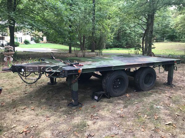 Military heavy duty trailer