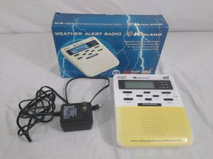 Midland WR-100 S.A.M.E Digital Weather Station Hazard Public Alert Radio NOAA for Sale in Cleveland, OH