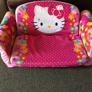 Hello kitty Marshmallow Sofa for Sale in Los Angeles, CA