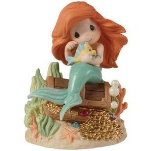 Disney The Little Mermaid Figurine, Love Is The Greatest Treasure, Porcelain for Sale in Imperial Beach, CA