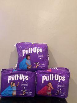 Huggies Pull Ups Training Diaper/Pants for Sale in Santa Ana,  CA