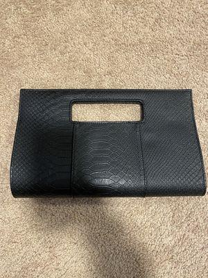 Black clutch handbag for Sale in Franklin, MA