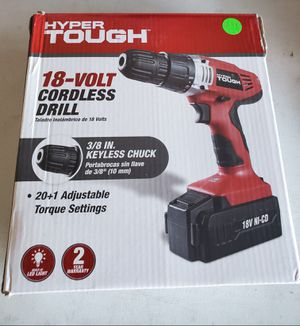 New 18 volt cordless drill for Sale in Riverside, CA
