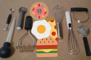 KITCHEN TOOLS (8items) BUNDLED all for $4.00. Or sell separately for Sale in Manteca, CA