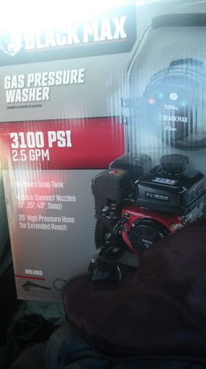 Brand New 3100 PSI Blackmax Gas Pressure Washer. for Sale in Elyria, OH